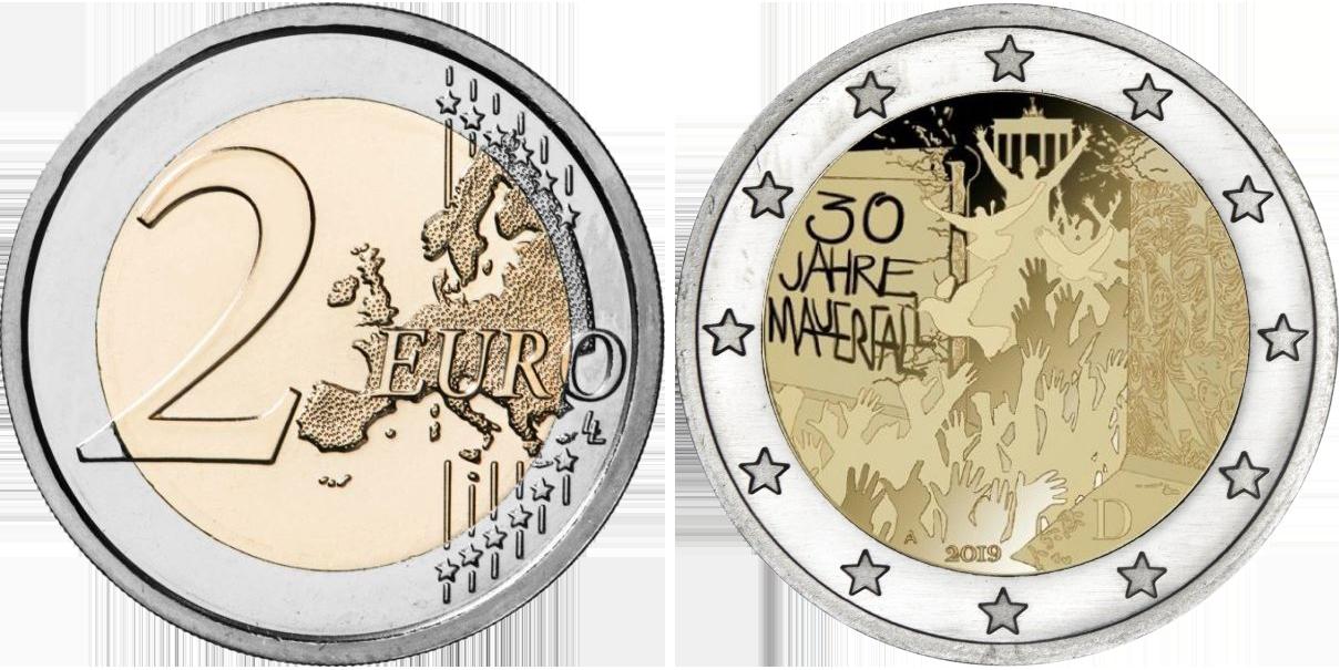 2 Euro Münzen 2021